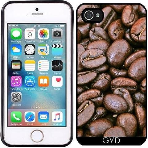 Custodia in silicone per Iphone 5/5S - Chicco Di Caffè Di Stile by WonderfulDreamPicture