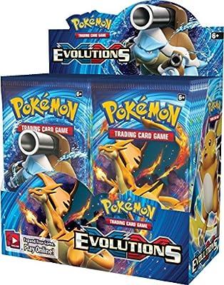 Pokemon Evolutions Lote 5 Sobres + 1 De Regalo de X.J.E.T.