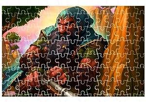 World Of Warcraft Dwarf 120pcs Puzzle affiche 20*30cm