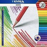 Lyra 2521240 Osiris Tri Perm Etui K24 24 Farbstifte, dreikant -