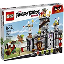 LEGO Angry Birds 75826 King Pig's Castle Building Kit (859 Piece) by LEGO
