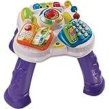 VTech Baby - Mesita parlanchina 2 en 1, mesa de actividades infantil con panel interactivo de actividades extraíble (80-14802