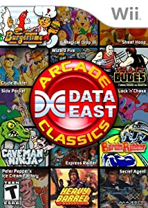 data east: Data East Arcade Classics - Nintendo Wii by Majesco