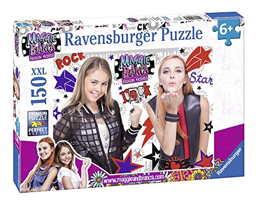 Ravensburger-Puzzle Girls Rock Maggie y Bianca 150Piezas XXL, 10048