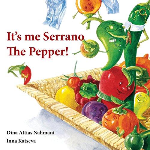 It\'s me, Serrano The Pepper!