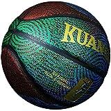 Kuangmi Mode Cool Street Cuir Composite Ballon de Basket Taille 67pour Utilisation intérieur extérieur, Multicolore