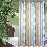 Duschvorhänge frisch garten-stil polyester verdicken sie wasserdicht schimmel beweis vorhang abgeschnitten-N