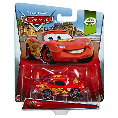 Image of Disney Pixar Cars Diecast World Grand Prix Flash Lightning Mcqueen
