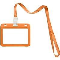 Yiranok titulaire de la carte de plastique dur, porte-carte d'identité de carte avec porte-clés de 45 cm pour 70 * 100…