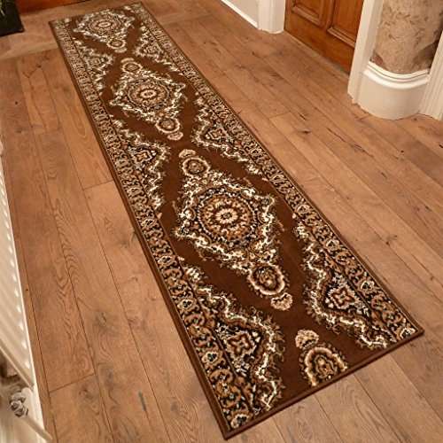 Turkesh Brown - Long Hall & Stair Carpet Runner