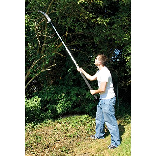 The Silverline tree pruner, is one of the more affordable models featuring a durable, triple-ground blade cuts cleanly on forward and reverse stroke and has a long 470mm blade length.