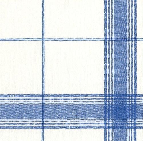 Papierservietten, für Hochzeiten, Partys, Geburtstage, belgisches Blau kariert Pack of 30 blau (Blau Karierte Party Supplies)