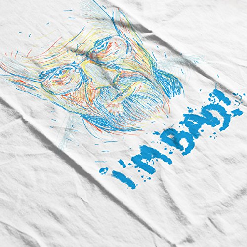 Breaking Bad Michael Jackson Im Bad Women's Hooded Sweatshirt White