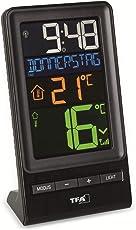 TFA Dostmann 30.3064.01 Funk-Thermometer Spira mit Farbdisplay