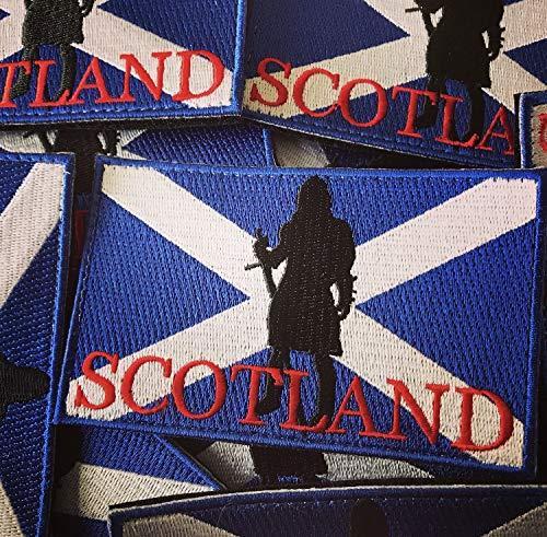 Parche de la bandera de Escocia