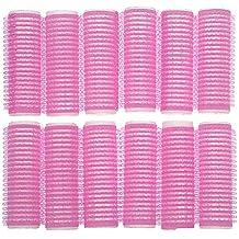COSE DI DONNA® Rulos de Velcro adhesivos medianos para el pelo rizar el cabello cuidado peinados rizos suaves Accesorios baño Bigudíes y accesorios Plástico