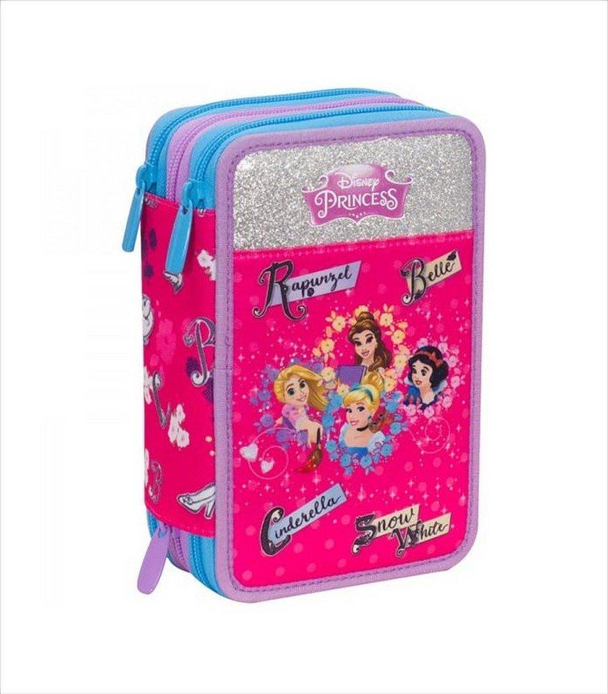 Seven Mochila Princess Magical Dream Disney Schoolpack Princess 2018/19 + Estuche R Gadget de regalo