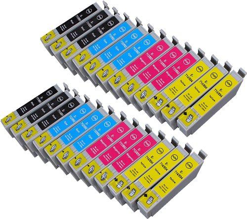Preisvergleich Produktbild 24 Multipack XL Epson T0715 , T0895 Patronen Kompatible. 6 schwarz, 6 cyan, 6 magenta, 6 gelb für Epson Stylus D120, Stylus D78, Stylus D92, Stylus DX4000, Stylus DX4050, Stylus DX4400, Stylus DX4450, Stylus DX5000, Stylus DX5050, Stylus DX6000, Stylus DX6050, Stylus DX7000F, Stylus DX7400, Stylus DX7450, Stylus DX8400, Stylus DX8450, Stylus DX9400F, Stylus Office B40W, Stylus Office BX300F, Stylus Office BX310FN, Stylus Office BX600FW, Stylus Office BX610FW, Stylus S20, Stylus S21, Stylus SX100, Stylus SX105, Stylus SX110, Stylus SX115, Stylus SX200, Stylus SX205, Stylus SX210, Stylus SX215, Stylus SX218, Stylus SX400, Stylus SX405, Stylus SX405WiFi, Stylus SX410, Stylus SX415, Stylus SX510W, Stylus SX515W, Stylus SX600FW, Stylus SX610FW. Tintenpatrone. Tinten kompatible Druckerpatronen. T0711 , T0712 , T0713 , T0714 , T0891 , T0892 , T0893 , T0894 , TO711 , TO712 , TO713 , TO714 , TO891 , TO892 , TO893 , TO894 © Patronenland