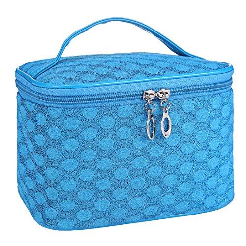 Susenstone Quatuor Polka Dot Gaze Cosmetic Bag Portable