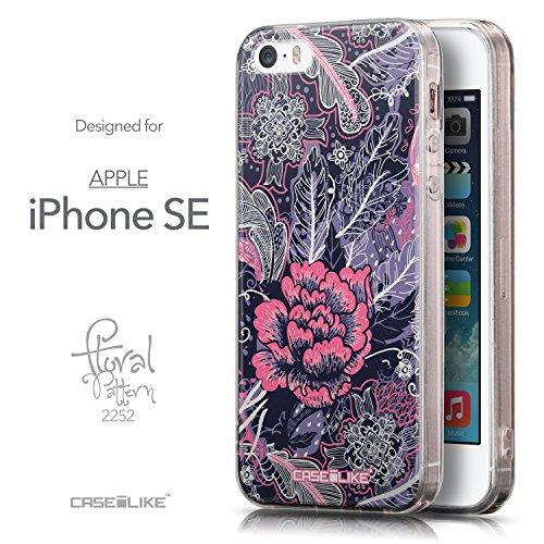 CASEiLIKE Comic Beschriftung Rosa 2912 Ultra Slim Back Hart Plastik Stoßstange Hülle Cover for Apple iPhone SE +Folie Displayschutzfolie +Eingabestift Touchstift (Zufällige Farbe) 2252