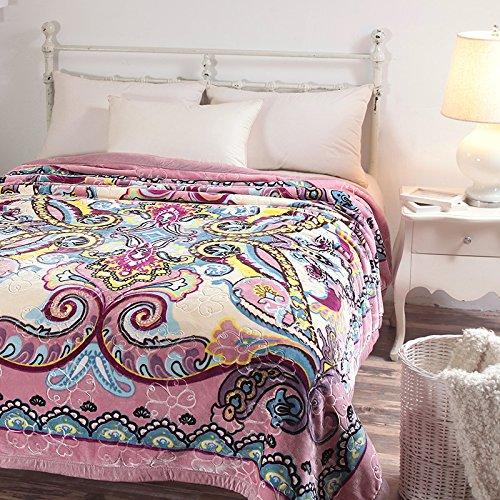 BDUK Winter Doppelzimmer und zwei Picc warme Decke Bettdecken Hochzeit 8 Catties Decken Raschel Decke