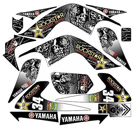 Yamaha Raptor 700RS Aufkleber Aufkleber Kit in MX Vinyl (nicht Oem)