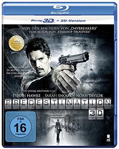 Predestination - Entführung in die Zukunft (Prädikat: Besonders wertvoll) [3D Blu-ray + 2D Version] -