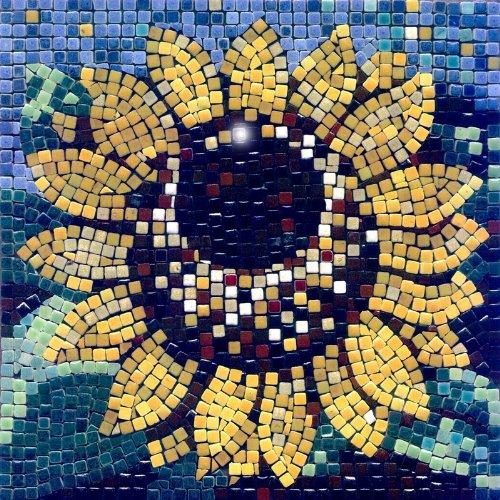 mosaic kit ,20x20cm, Sunflower