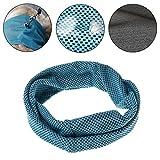 Yasheep Sommer Pet Dog Kühlung Halsband Schal–Hund Puppy Katze Halsband Bandana Chill Ice Hals Handtuch Wrap