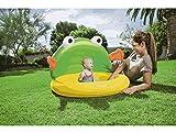 C&C Kinder Baby Pool Schwimmbad 114x 109x 74C/Frosch aufblasbar bes085