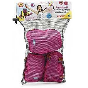 Soy Luna YLU02411 - Kit Protezioni Bambina per Pattini, Taglia L