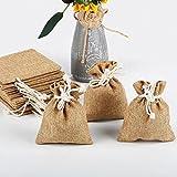 Yahee 24er Set Geschenkbeutel Säckchen für Gastgeschenke, 10 x 15 cm