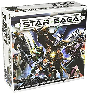 Mantic Games MGSS101 Star Saga : The Eiras Contract, Multicolore