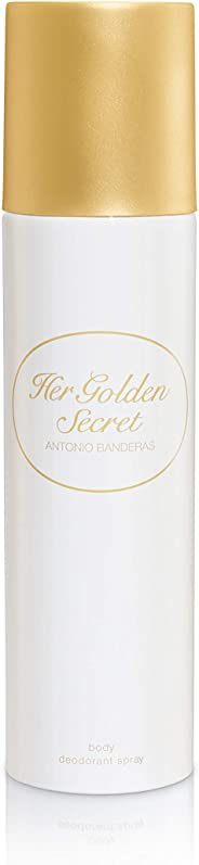 Antonio Banderas Her Golden Secret Deodorant Spray, 150ml