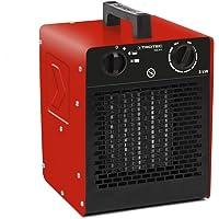 TROTEC Keramik Heizlüfter Elektroheizer TDS 20 C inkl. Mehrstufen-Temperaturregelung bis 3.000 Watt (3 kW) Bauheizer mit…