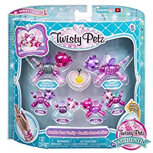 Spin Master Twisty Petz: 6 Pack Unicorn Family, Colores Surtidos (2011632)