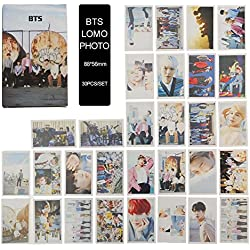 yovvin 30 pieza BTS Foto Tarjetas, Kpop BTS/Exo/got7/NCT/Big Bang/Twice/Seve nteen/Wanna One photocard, colección y mejor regalo para The Army y The Fans, BTS, 8.8 x 5.6 CM