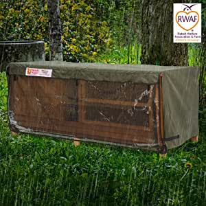6ft Chartwell Single Hutch Hugger 181x65.5x63cm