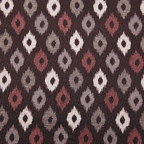 Hans-Textil-Shop Stoff Meterware Raute (Gardinenstoff, Deko, Polsterstoff, Möbelstoff) - 1 Meter