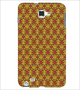PrintDhaba Pattern D-5141 Back Case Cover for SAMSUNG GALAXY NOTE 1 (Multi-Coloured)