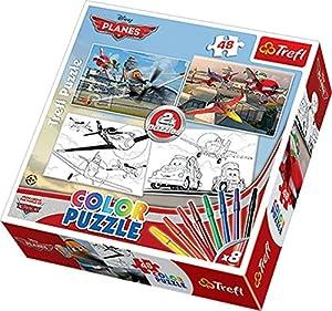 TREFL - Puzzle Aviones Disney Aviones de 48 Piezas (36510)