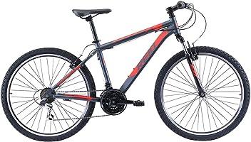 REID Men's XL MTB Sport Mountain Bike - Black/Red