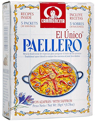 Original spanische Paella Gewürzmischung
