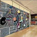Hintergrundbild Wandsticker Wandtattoo Wanddekorationindividuelle Fototapete Bunte Yoga Zeichentrickfigur Yoga Raum Hintergrund Benutzerdefinierte Hochwertige Tapeten Wandbilder, 150 * 105 Cm