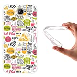 WoowCase Umi Rome Hülle, Handyhülle Silikon für [ Umi Rome ] Fastfood Handytasche Handy Cover Case Schutzhülle Flexible TPU - Transparent