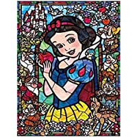 Leezeshaw 5D DIY Diamond Painting By Number Kits Fameless Rhinestone Embroidery Paintings Pictures For Home Decor - Snow White (11.8x15.7inch/30x40cm)