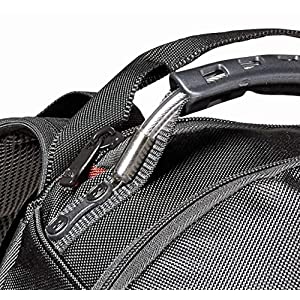 "61ntIhyE tL. SS300  - Wenger/SwissGear Ibex 125th Slim Ballistic maletines para portátil 40,6 cm (16"") Mochila Negro - Funda (Mochila, 40,6 cm (16""), Tirante para Hombro, 1,2 kg, Negro)"