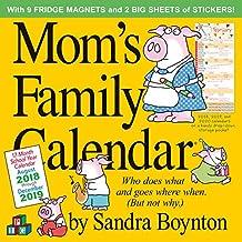 Mom\'s Family Wall Calendar 2019