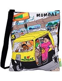 Eco Corner Women's Sling Bag (Multi-Coloured, 3016)
