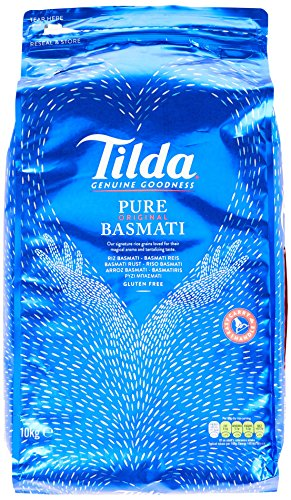 (Tilda Pure Original Basmati Rice, 1er Pack (1x10kg))